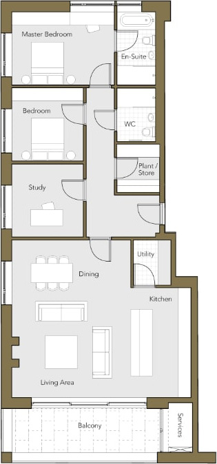 First-Floor-Apartment-No.-4-Two-Bedroom-plus-Stud